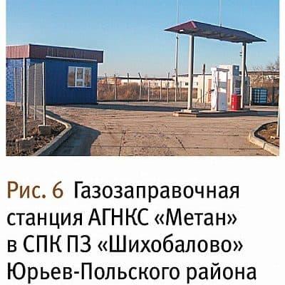 метан Владимирская область