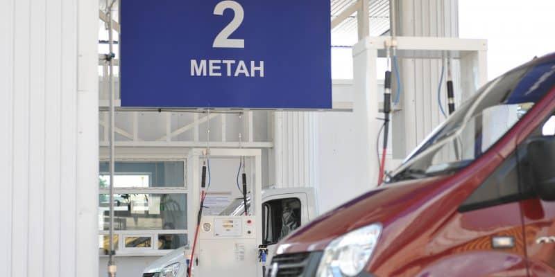 АГНКС с метаном