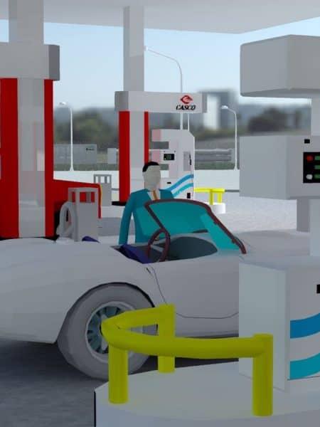 3Д моделирование АГНКС
