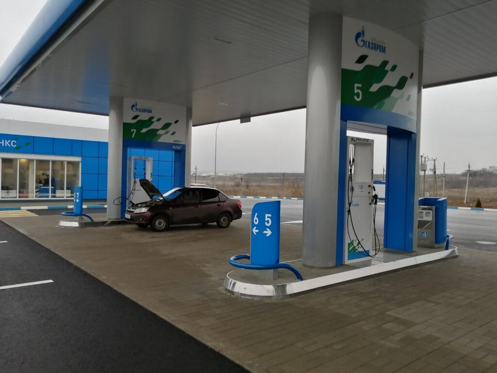 Новая АГНКС в Ростовской области