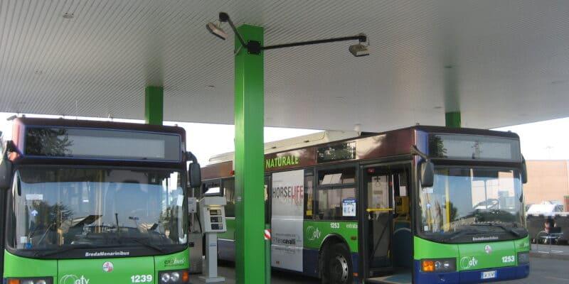 метановые автобусы в челябинске